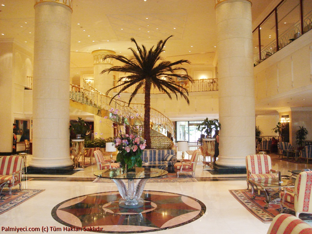 Ceylan Intercontinental - Otel Lobby - Interior Palm Work